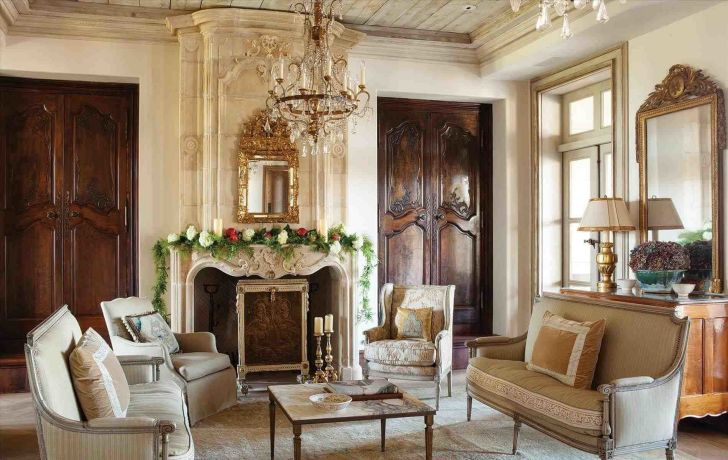 Awesome Living Room French Ideas