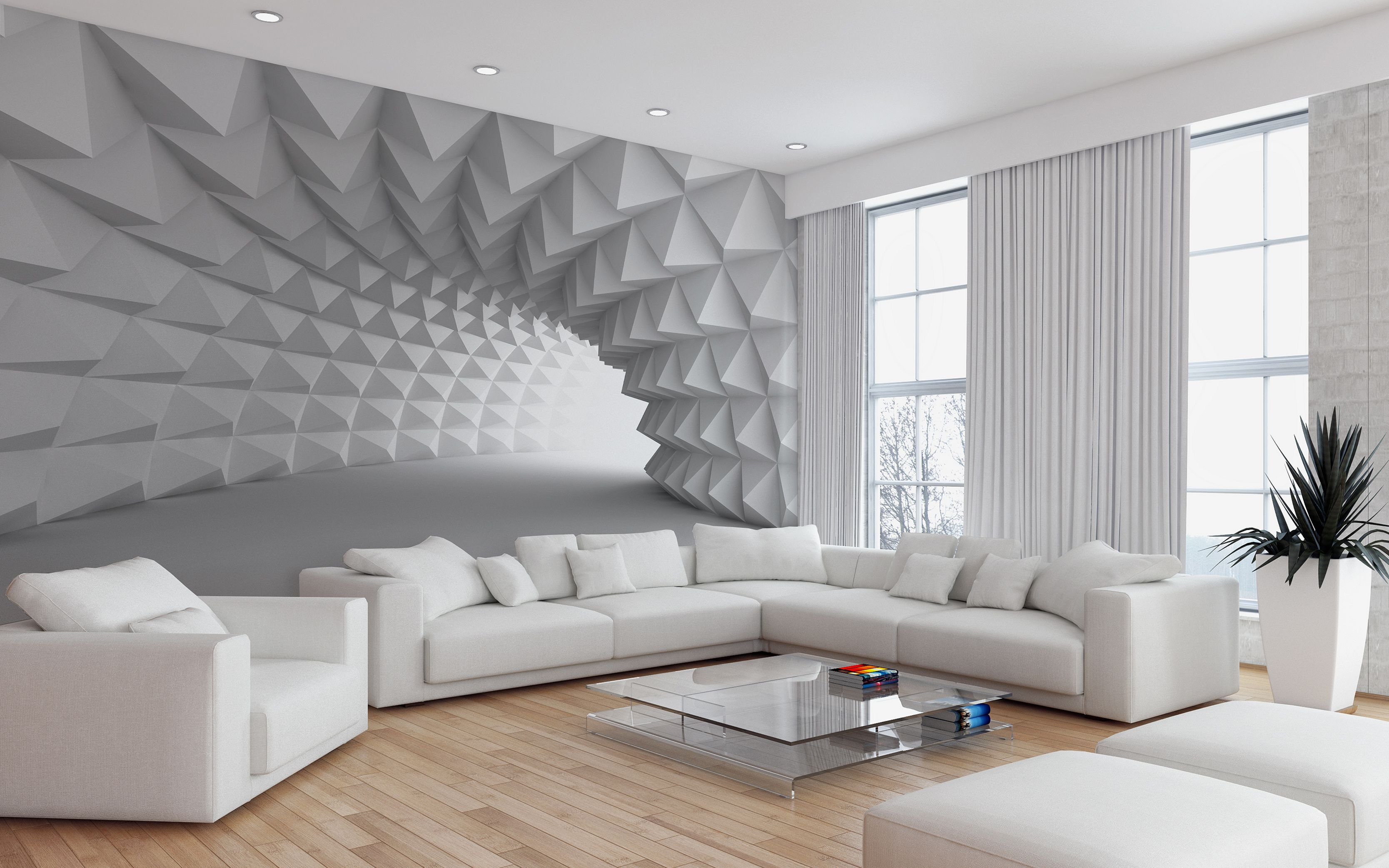 12 Gorgeous Living Room Design With 3D Wall Ideas To ...