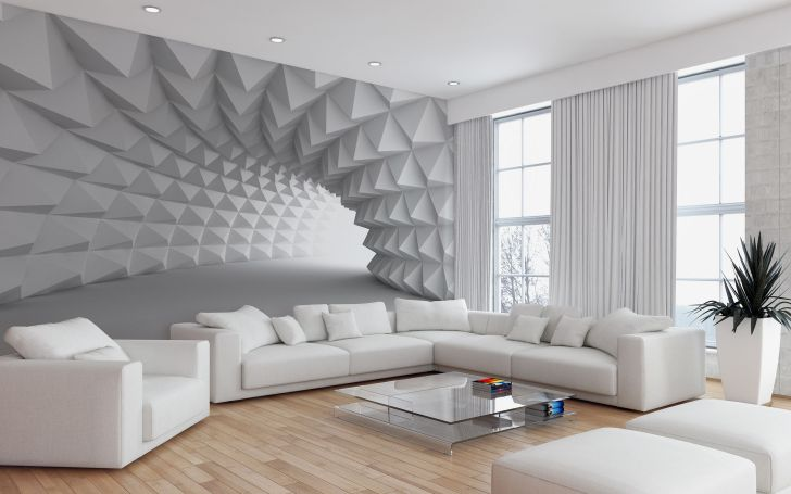 12 Gorgeous Living Room Design With 3d Wall Ideas To Inspire You Dexorate