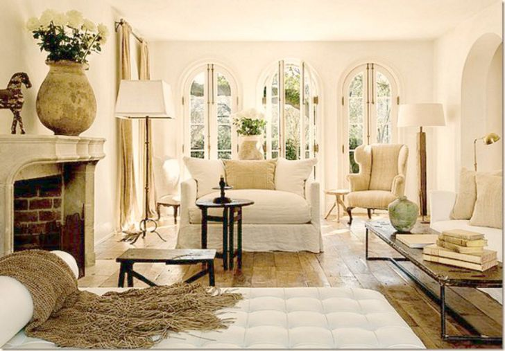 French Living Room Decoration