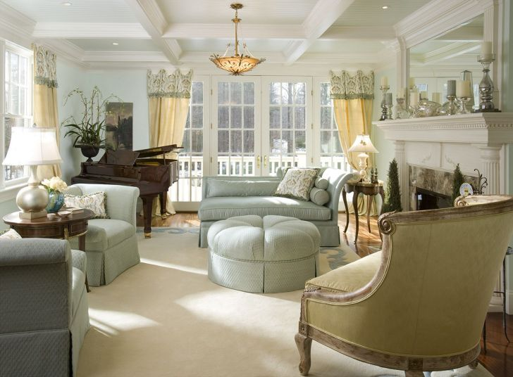 French Living Room Style Ideas