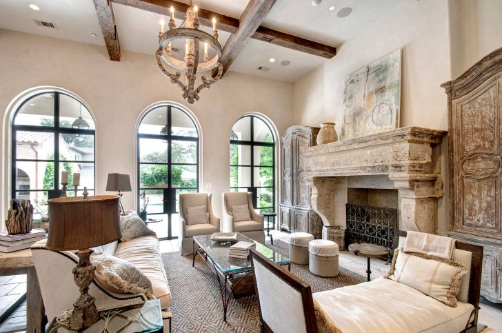 Living Room French Style Ideas