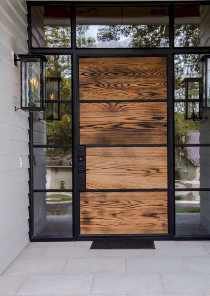 Modern Glass Front Door Ideas