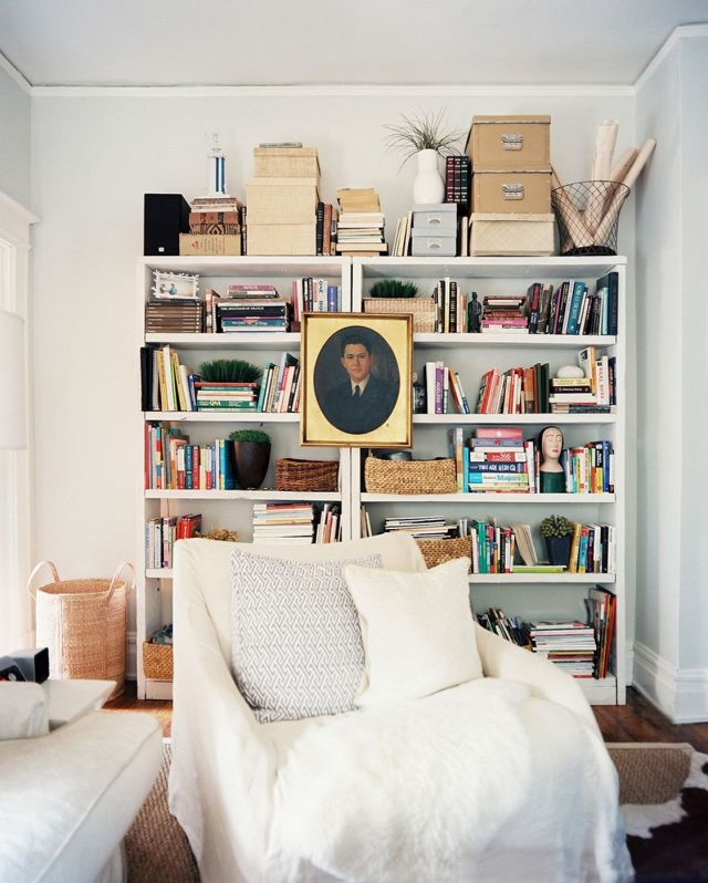 Best DIY Living Room Bookshlef Ideas