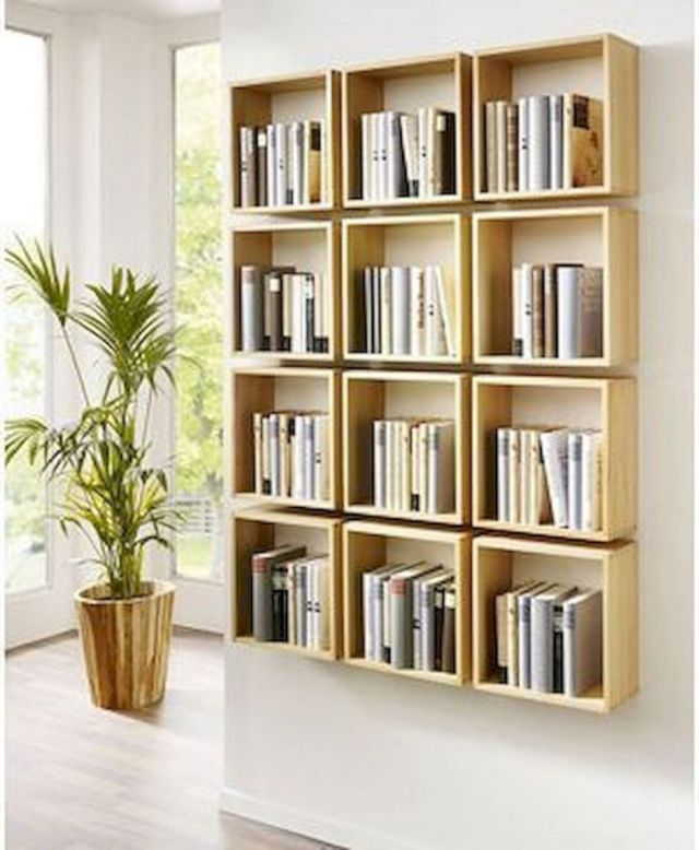 Easy DIY Bookshelf Ideas