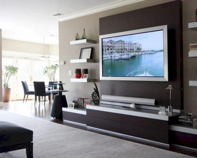 Marvelous Wall TV Design Ideas