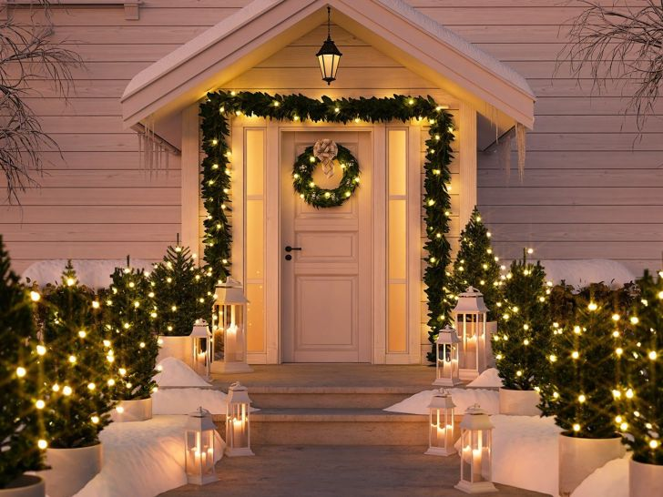 Wonderful Outdoor Christmas Design Ideas