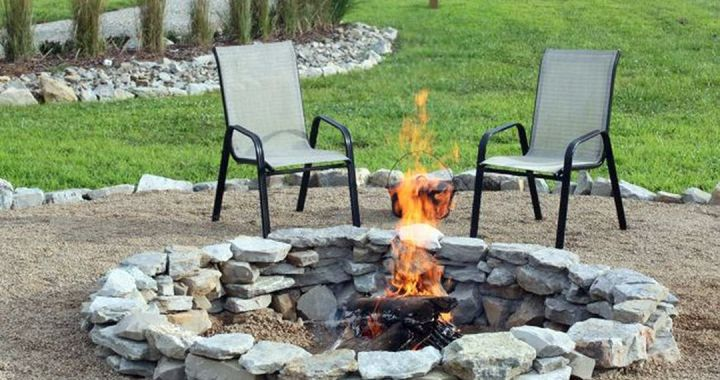 Cheap DIY Backyard Fire Pit Ideas