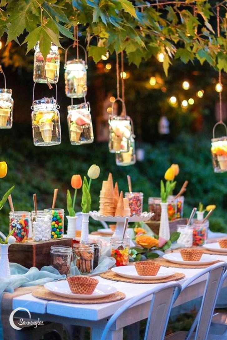 Classy Outdoor Summer Party Ideas