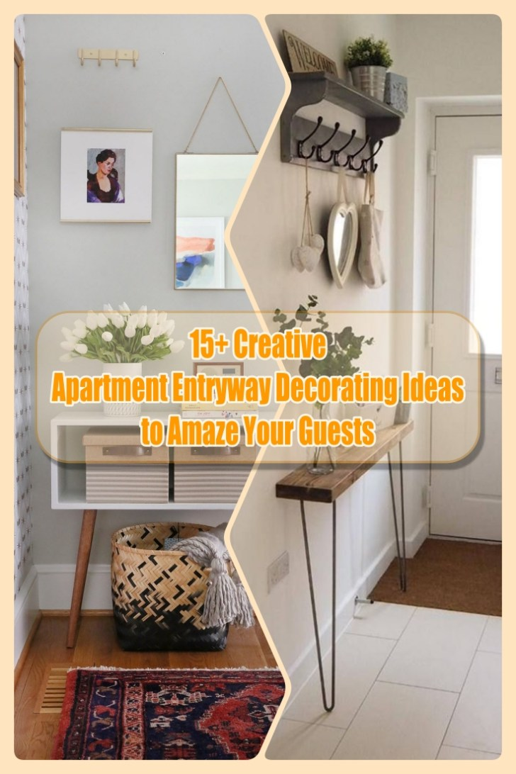 15+ Creative Apartment Entryway Decorating Ideas to Amaze ...