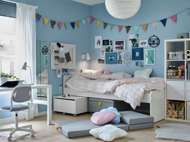 IKEA Bedroom Furniture Ideas for Girls Room