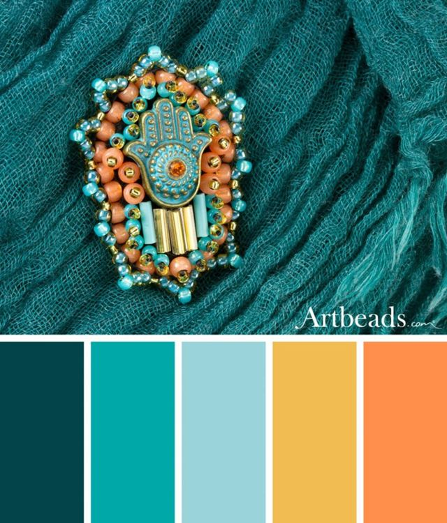 Summer Color Palettes with Swarovski Dazzle