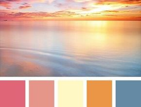 Unique Summer Color Palette
