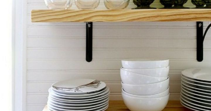 DIY Kitchen Shelves ideas