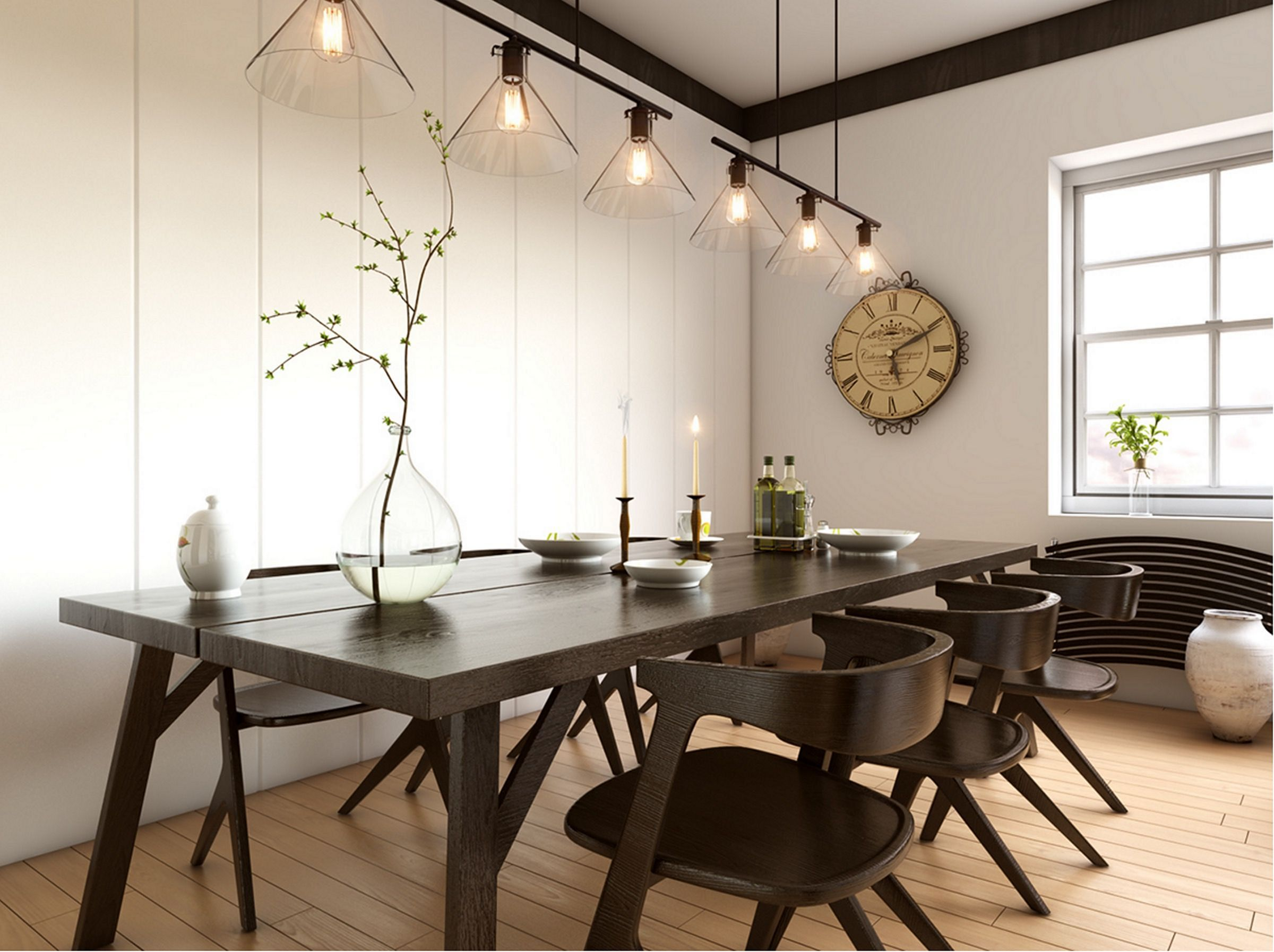 9 Modern Wood Dining Room Ideas That Can Become Your Inspiration Dexorate
