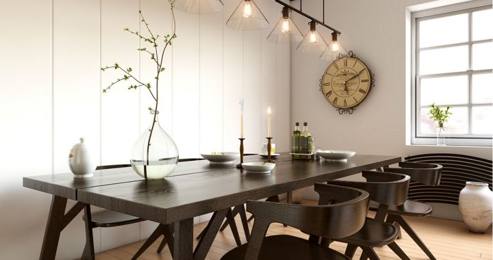 Industrial Dining Room Ideas