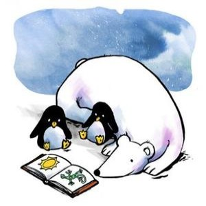 bear and penguin story time