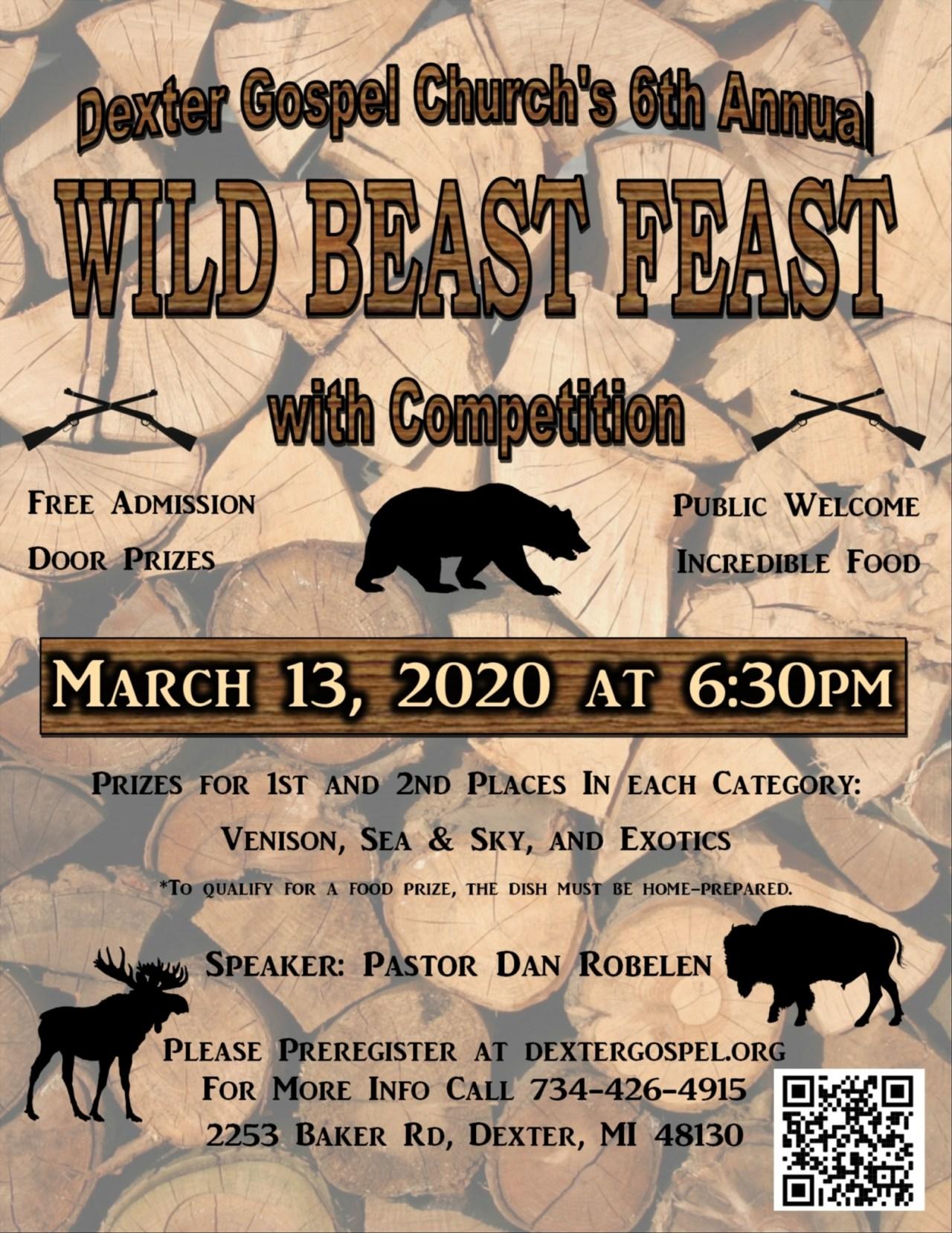 Wild Beast Feast 2020