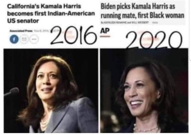 Kamala Harris identity
