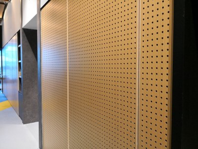 PERFORATED TIMBER PANEL