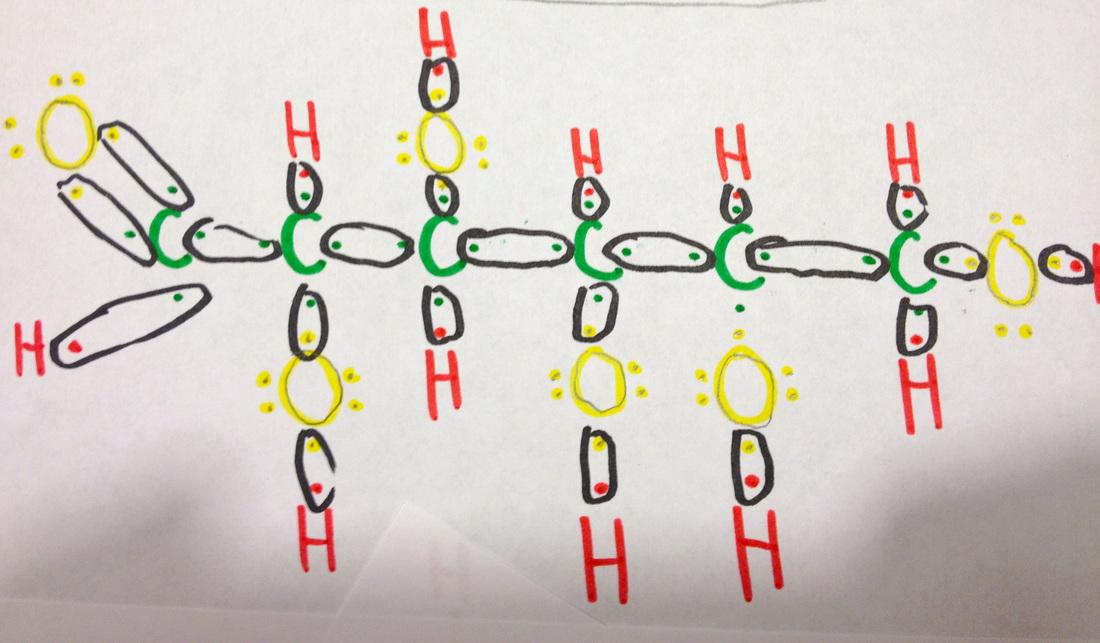 double bond electron dot diagram 2008 ford fusion fuse lewis structure, vsepr, and nature of bonds - d-glucose