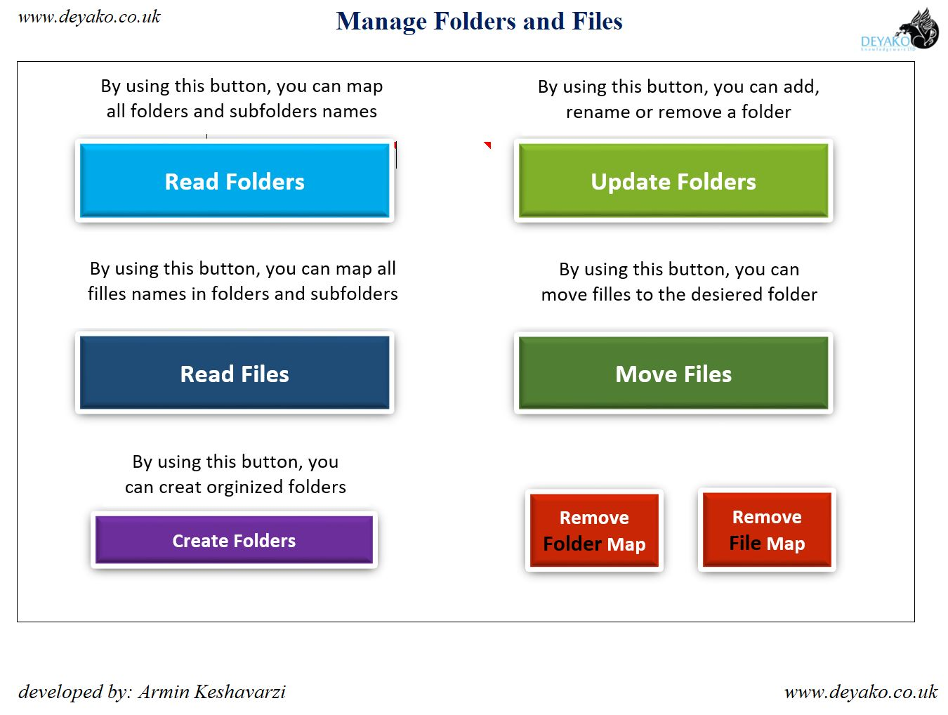 Organize Files And Folders By Microsoft Excel