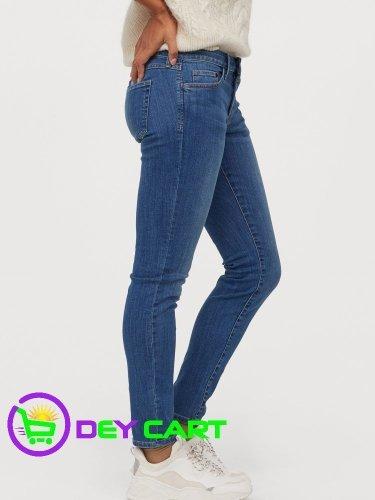 H&M Super Skinny Low Jeans - Denim Blue 11