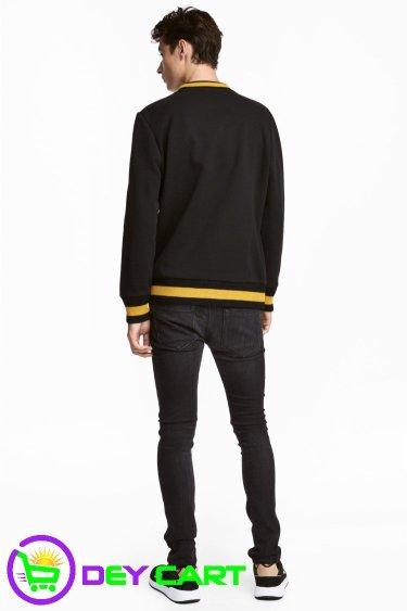 H&M Tech Stretch Skinny Jeans - Black 1