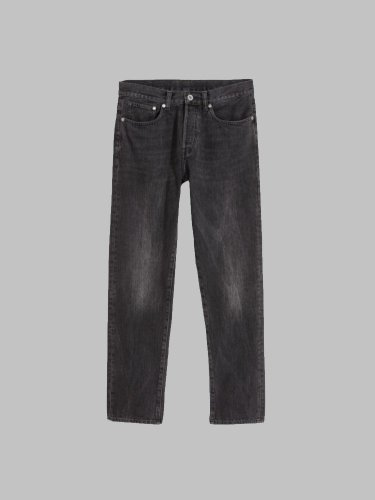 H&M Straight Leg Jeans - Black Denim
