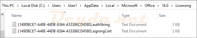 Aktivierung von Office365 über mehrere Citrix Worker (Activation Token Roaming)