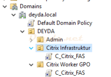 GPO Group Policy FAS
