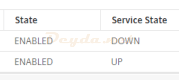 Service State Down