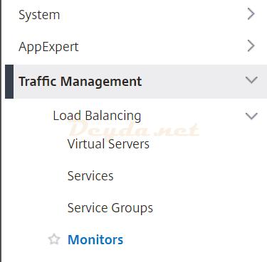 Traffic Management Monitors Load Balancing