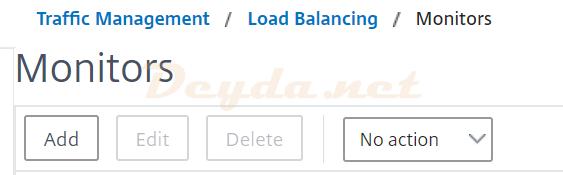 Traffic Management Load Balancing Monitors LDAPS
