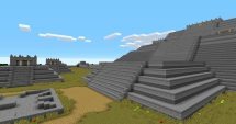 Teotihuacan Pyramid of the Moon Minecraft