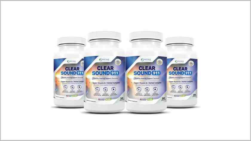 Clear Sound 911 review-pills