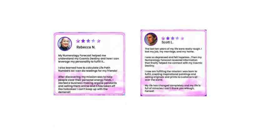Numerology Forecast Customer Reviews