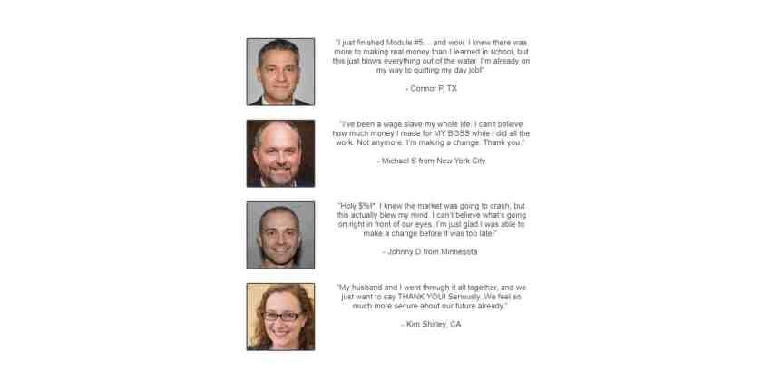 Recession Profit Secrets Customer Reviews