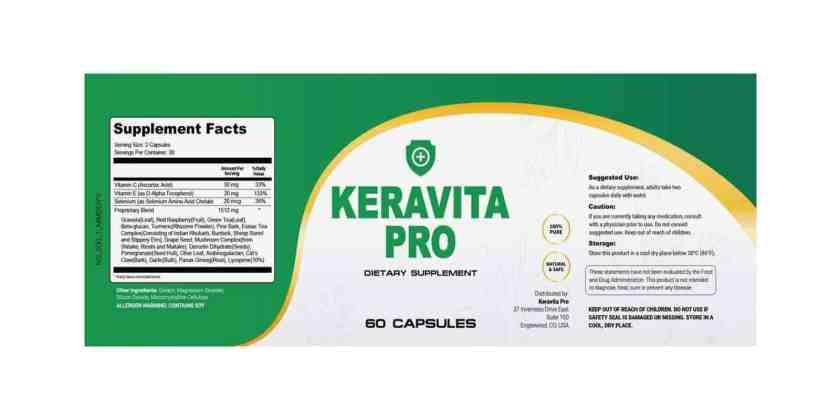 Keravita Pro dosage