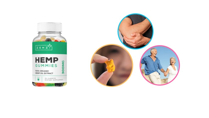 Zenzi Hemp Gummies Benefits