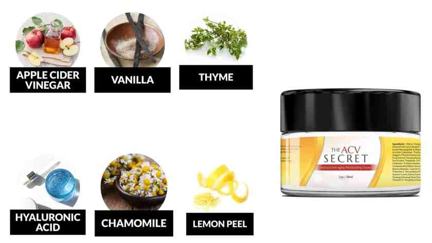 Ingredients Of The ACV Secret Review