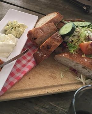 lunch bij De Zaagkoele
