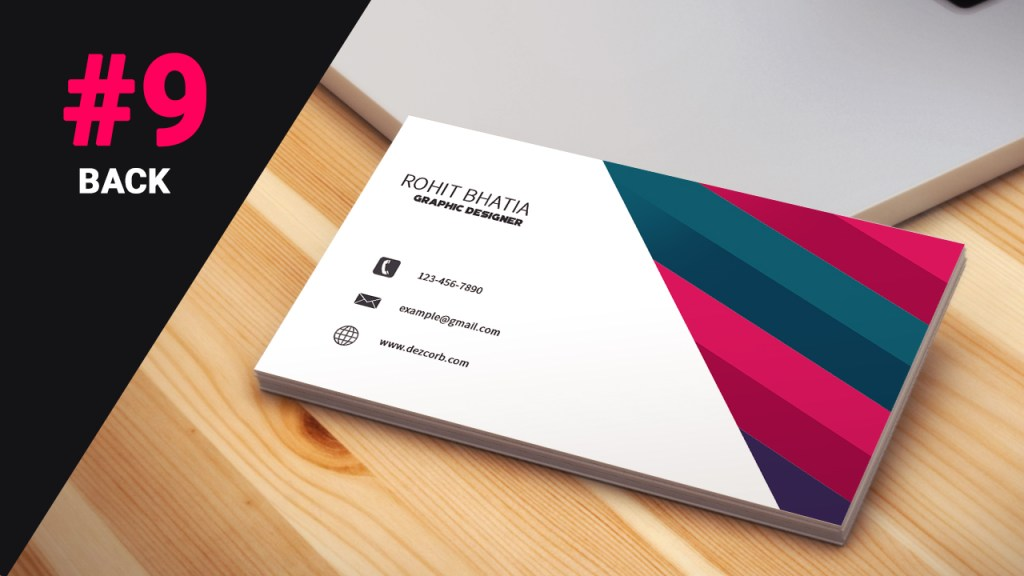9 how to design business cards in photoshop cs6 pink dezcorb download psd business card tutorial reheart Images
