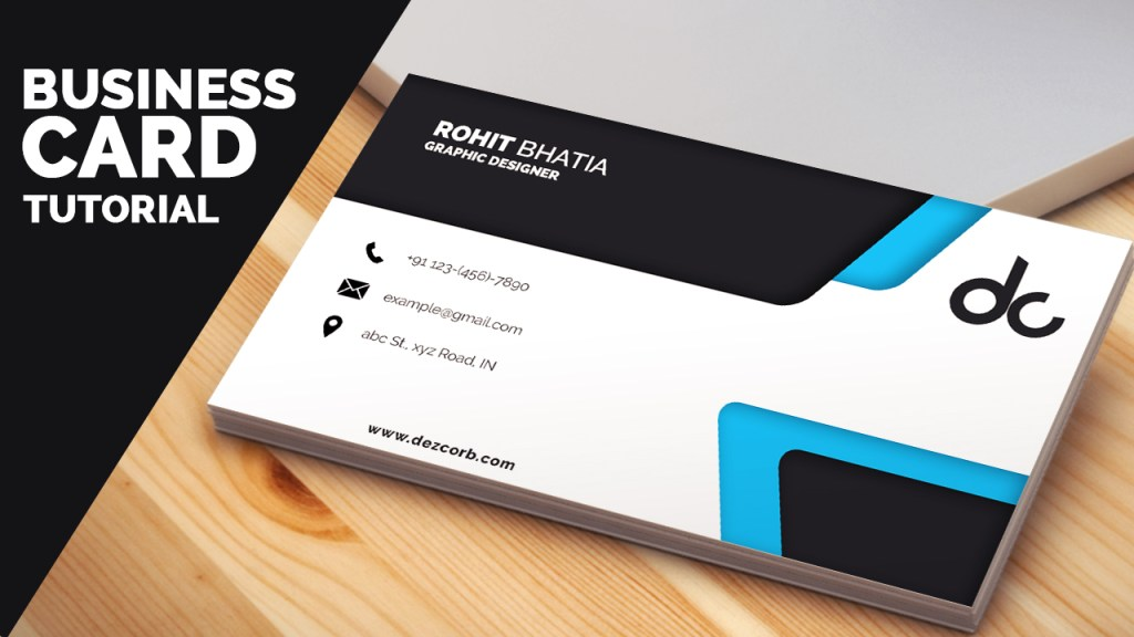 business card design in photoshop cs6 tutorial | Learn Photoshop ...