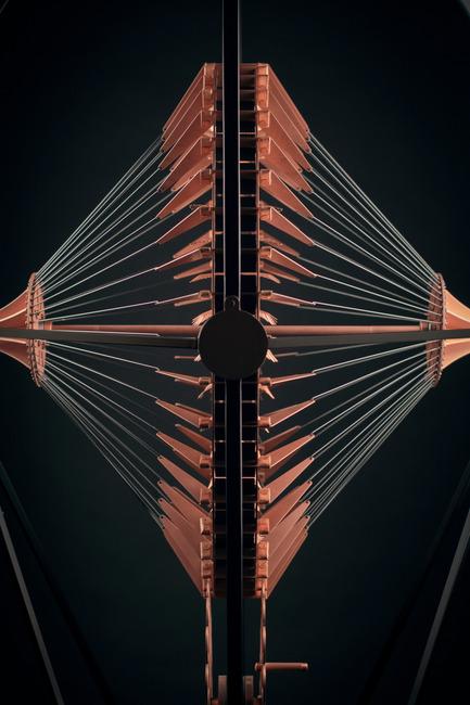 Press kit | 2110-03 - Press release | Copper in Motion - Larose Guyon - Art - Photo credit: Larose Guyon inc.