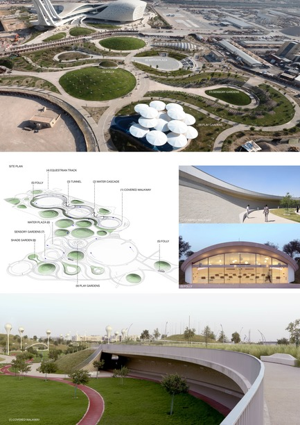 Press kit | 2404-02 - Press release | Oxygen Park, Education City, Doha - Qatar Foundation, AECOM - Institutional Architecture - Project Presentation Board2 - Photo credit: AECOM (photo credit: Markus Elblaus)
