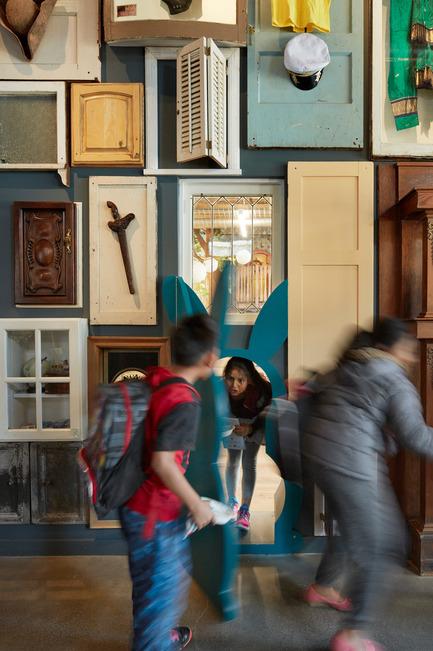 Press kit   1562-02 - Press release   826 Valencia Tenderloin Center Receives Special Commendation Award for Social Responsibility - INTERSTICE Architects - Commercial Architecture - Rabbit Door - Photo credit: Matthew Millman