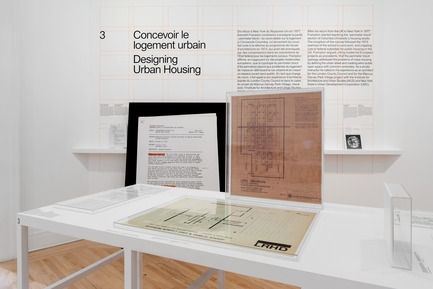 Press kit | 756-17 - Press release | Educating Architects: Four Courses by Kenneth Frampton - Canadian Centre for Architecture (CCA) - Event + Exhibition - Educating Architects: Four Courses by Kenneth Frampton. Installation view, 2017. - Photo credit: Credit: Canadian Centre for Architecture