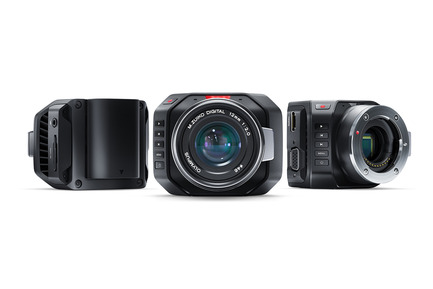 Press kit | 1696-07 - Press release | Blackmagic Industrial Design Team led by Simon Kidd is  Red Dot: Design Team of the Year 2016! - Red Dot Award - Competition - Blackmagic Micro Cinema Camera - Photo credit: Blackmagic Design
