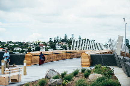 Press kit   2013-06 - Press release   Winner & Shortlisted announcements for WAN Waterfront, Transport & House of the Year Awards 2016 - World Architecture News Awards (WAN AWARDS) - Commercial Architecture - WAN Transport Award winner 2016  - Photo credit: Taumanu Reserve Bridge by Isthmus Group © David St George